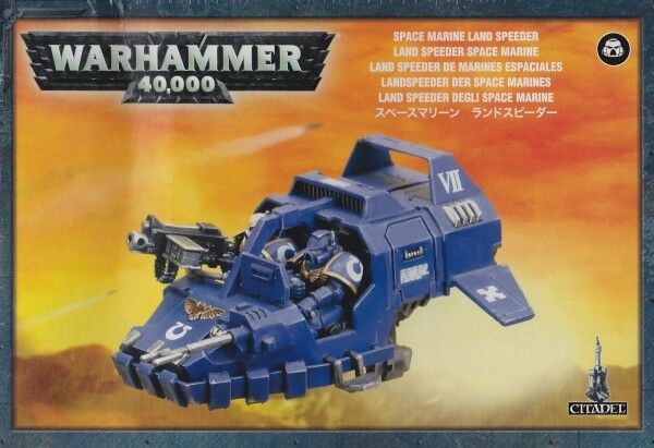Space Navy Land Speeder Games Workshop Warhammer 40.000 GW 40k 48-13