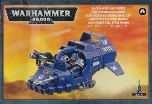 Space Navy Land Speeder Games Workshop Warhammer 40.000 GW 40k 4813