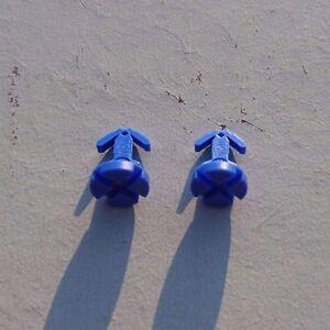 5 neue Röhrchen Verdunster für Heizkostenverteiler Farbe Blau