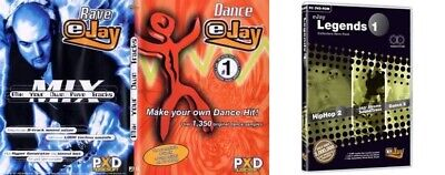 Pc- & Videospiele Bild, Video & Audio Nachdenklich Ejay Dance&rave Ejay Legends 1 New&sealed