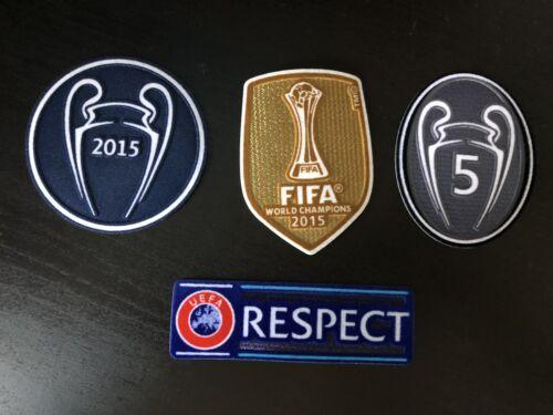 FC Barcelona Champions League Winner divista patch 2015 Club champions Messi tri