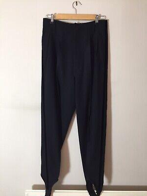 Jean Paul Gaultier Pantaloni Uomo Staffa Anni 1980-taglia 46 Euro-condizione Di Nizza-mostra Il Titolo Originale