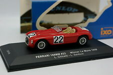 Ixo 1/43 - Ferrari 166 MM N°22 Winner Le Mans 1949