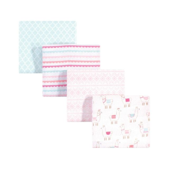 Hudson Baby Cotton Flannel Receiving Blankets One Size Xoxo