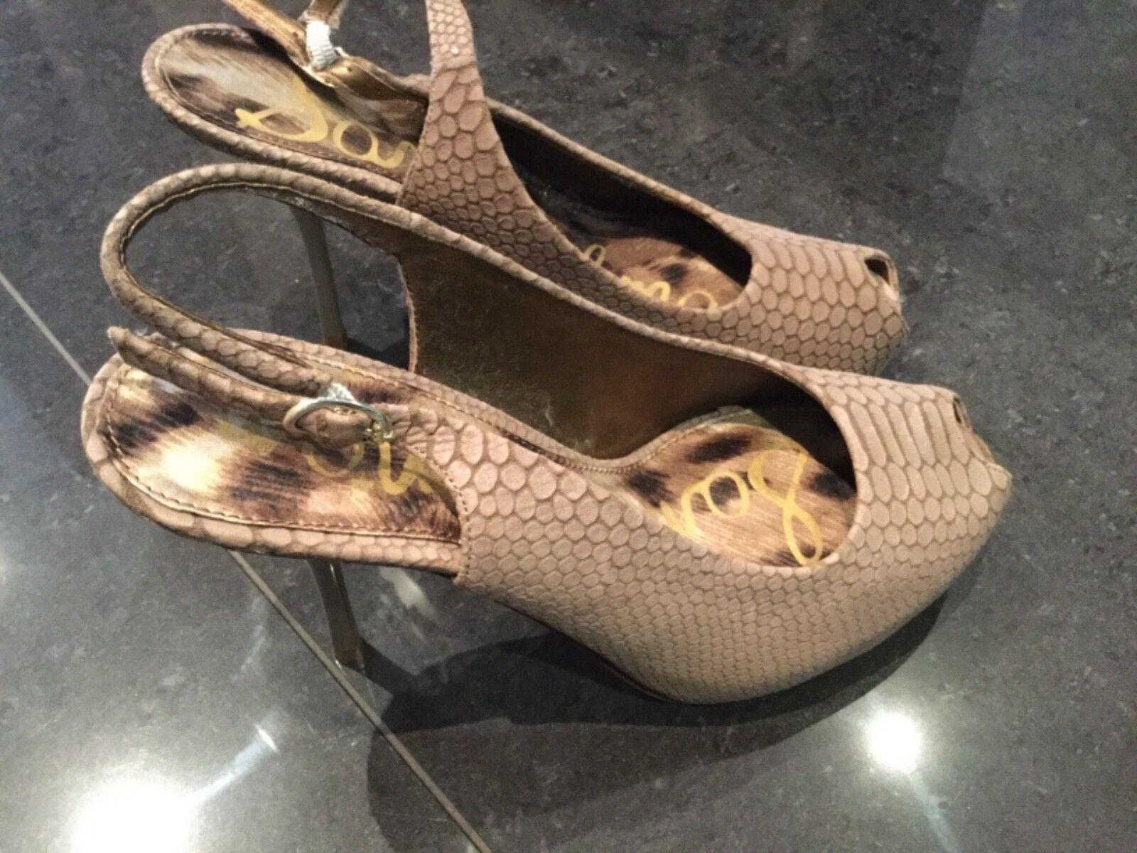 Sam Edelman New & Gen. Ladies Suede High Heeled Sandals UK 3.5, EU 36.5, US 6M