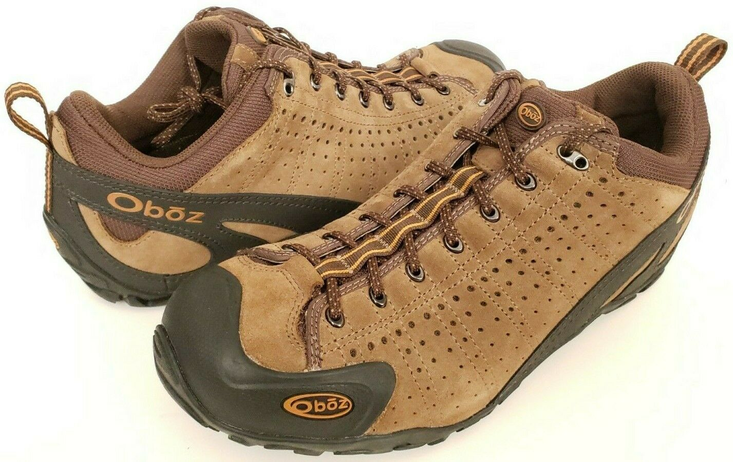Oboz Teewinot Outdoor Suede Hiking shoes - Mens Size 10.5 M Chestnut Brown 40501