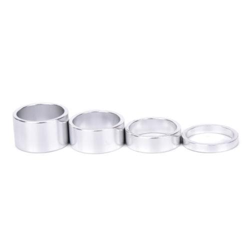 4pcs Durable Aluminum 5//10//15//20mm Headset Steuersatz Spacer Bicyle/_