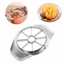 APPLE Cutter Coupe Wedger Diviseur épluche poire Fruit Acier Inoxydable Métal UK