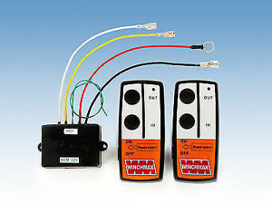 wireless winch remote control twin handset 12v 12 volt winchmax rh ebay com Wire Money Wire Money