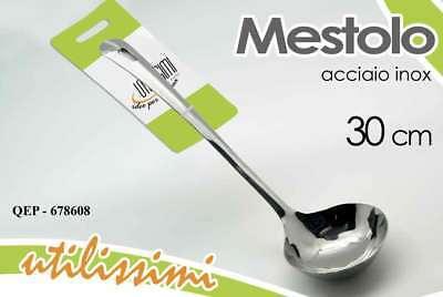 Flatware, Knives & Cutlery Mestolo Cucina 30 Cm In Acciaio Inox Utilissimi Qep-678608 Choice Materials Home & Garden