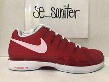 promo code ed448 1fe0c item 5 Nike Men s ZOOM VAPOR 9.5 TOUR TENNIS SHOES Red White 631458 601 Size  6.5 -Nike Men s ZOOM VAPOR 9.5 TOUR TENNIS SHOES Red White 631458 601 Size  6.5