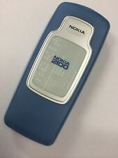 Nokia 2100 Rear Housing in Blue - Original. Brand New in packaging.