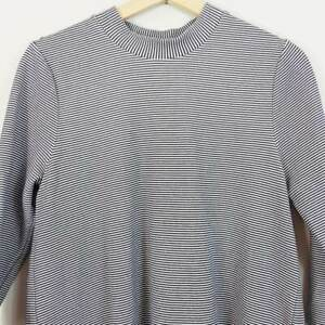 SEED-HERITAGE-Womens-Textured-Funnel-neck-Top-Size-S-or-AU-10