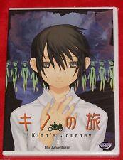 Kino's Journey - Vol. 1: Idle Adventurer (DVD, 2004) Manga Action R1 BRAND NEW
