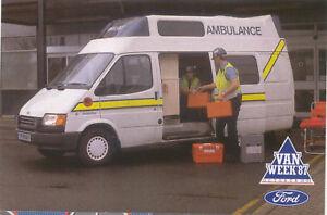 Ford-Transit-SVO-Ambulance-Original-postcard-FB-1452