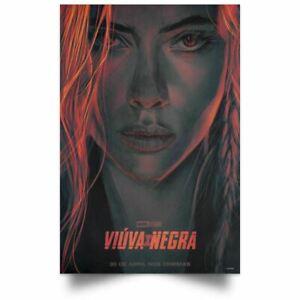 """Movie Collector/'s Poster Print  Scarlett Johansson 12/""""X18/"""" Black Widow"""