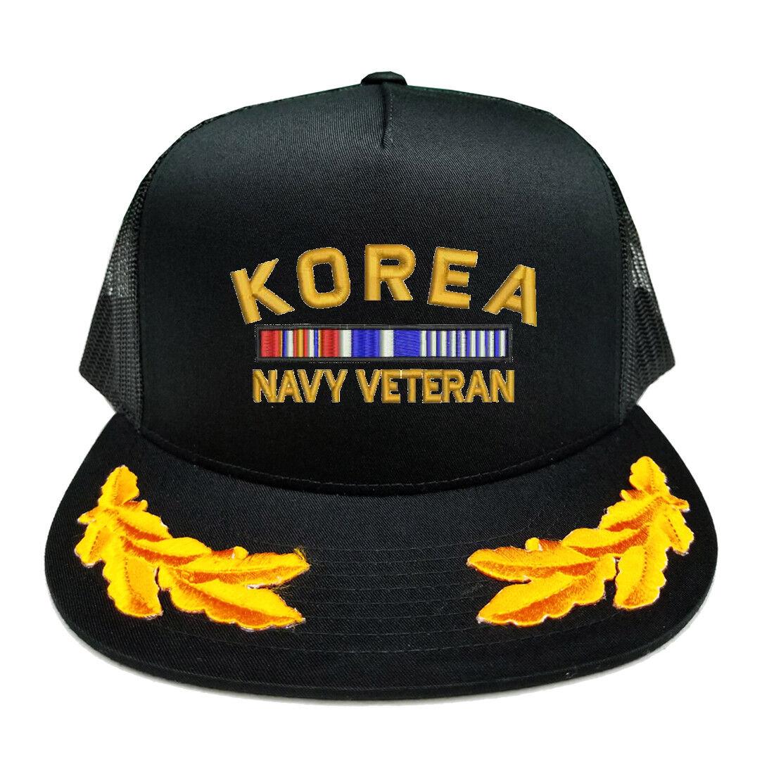 CUSTOM MAKE KOREA NAVY VETERAN RIBBON SCRAMBLED YUPOONG EGGS YUPOONG SCRAMBLED CAP HAT 468c00