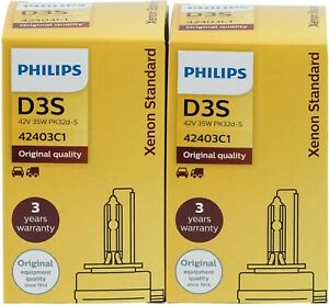 2-X-LAMPARAS-PHILIPS-D3S-42403C1