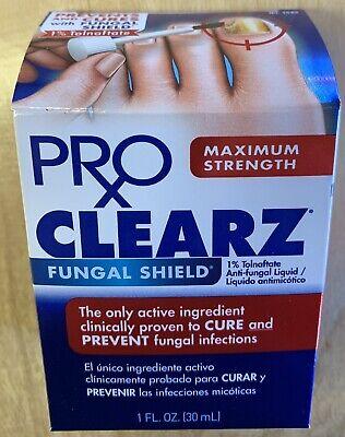 New Pro Clearz Fungal Shield Maximum Strength 1% Tolnaftata Anti ...