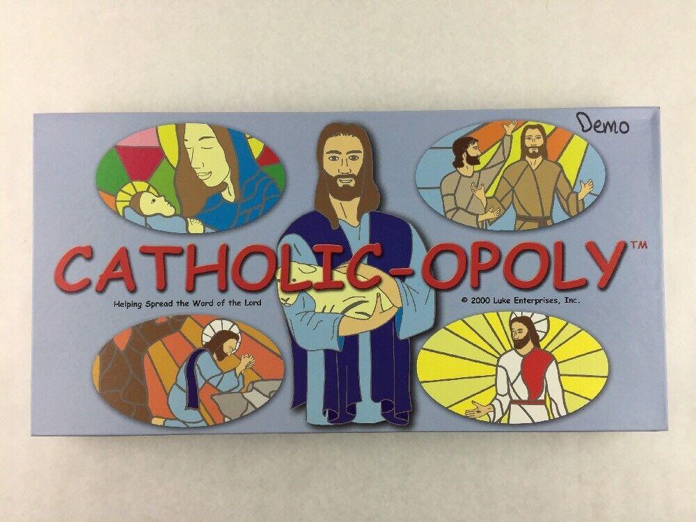 Catholic-Opoly Board Game par Luke Enterprises complet scellé PIECES