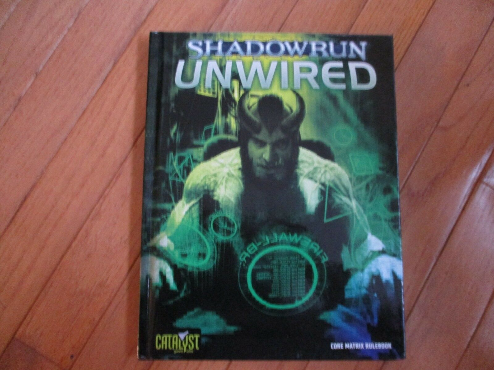 Shadowrun 4th Ed Unwired 3rd Printing HC