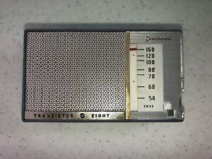 Vintage Continental Transistor Radio Eight Portable