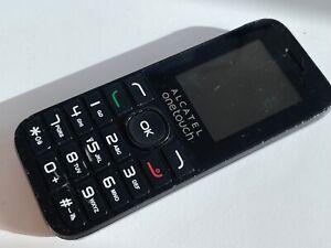 Alcatel ONETOUCH 10.16g Handy-Schwarz (o2 Tesco Giffgaff)