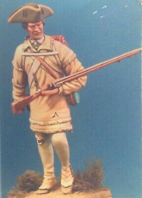 75mm Resin Figure Michael Roberts Halls Delaware Regiment, 1781. New. Fabbricazione Abile