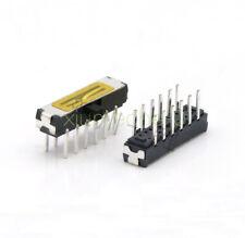 10pcs X Mini Slide Switch 4p2t Dip Slide 12pin 2 Position Mini Toggle Switches