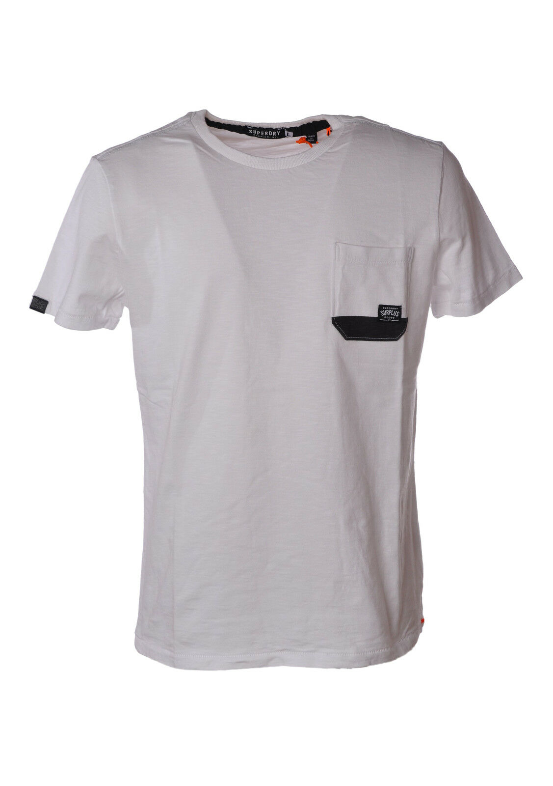 Superdry  -  T - Male - White - 3478321A183932