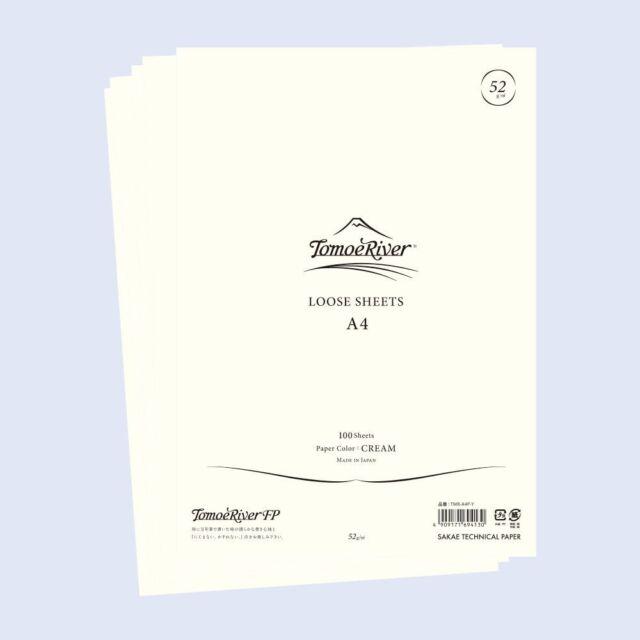 Tomoe River Paper A4 100 loose leaf sheets - Cream