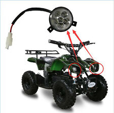 MINI QUAD POCKET ATV BIKE 33CC 43CC 47CC 49CC 50CC HEADLIGHT HEAD LAMP LED LIGHT