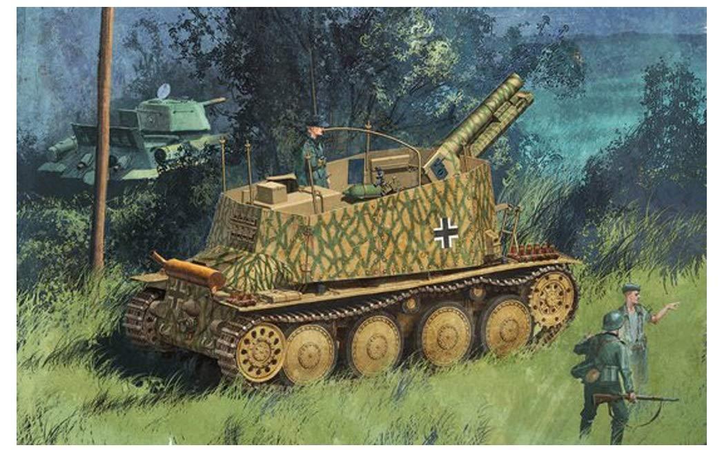 DRAGON 1 35 Sd.Kfz.138 1 German Geshutzwagen 38H s.IG33 1 Kit w  Tracking NEW