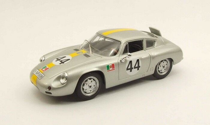 MODEL BEST 9444 - Porsche Abarth N°44 Targa Florio - 1962 Barth 1 43