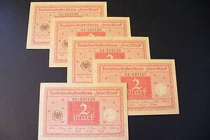 Superbe Billet Allemand / 2 Mark 1920 Neuf / - Achat Unitaire - (27/09/16) Les Produits Sont Vendus Sans Limitations