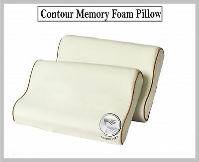 Luxury Memory Foam Pillows Orthopaedic Neck Head Pain Relief Pillow