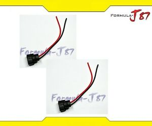 Wire-Pigtail-Female-PS24W-5202-H16-Two-Harness-Fog-Light-Bulb-Connector-Plug-Fit