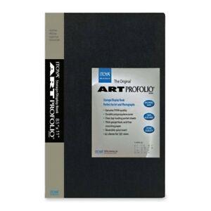 Itoya-Art-Profolio-Original-Storage-Display-Book-8-5-x-11-034-60-Pages