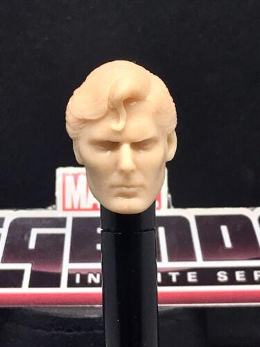 environ 15.24 cm MARVEL LEGENDS HT RS 1978 Superman Christopher Reeves 1:12 tête en fonte pour 6 in fig