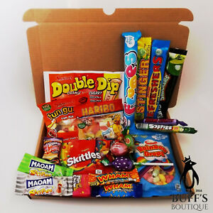 Image Is Loading MEDIUM Retro Sweet Hamper Selection Gift Box Present