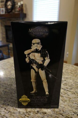 Sideshow Collectibles Star Wars Sandtrooper Sergent Exclusif Avec l'expéditeur Nouveau 1/6