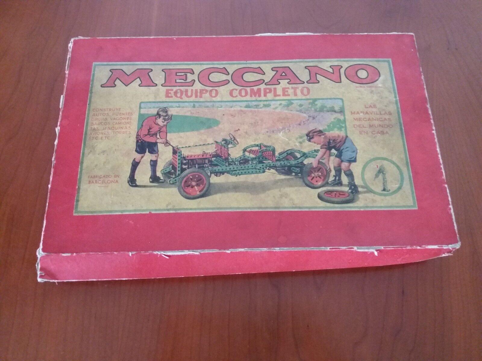 Meccano Equipo Completo nº1 ( Ver Fotos) de los años 70