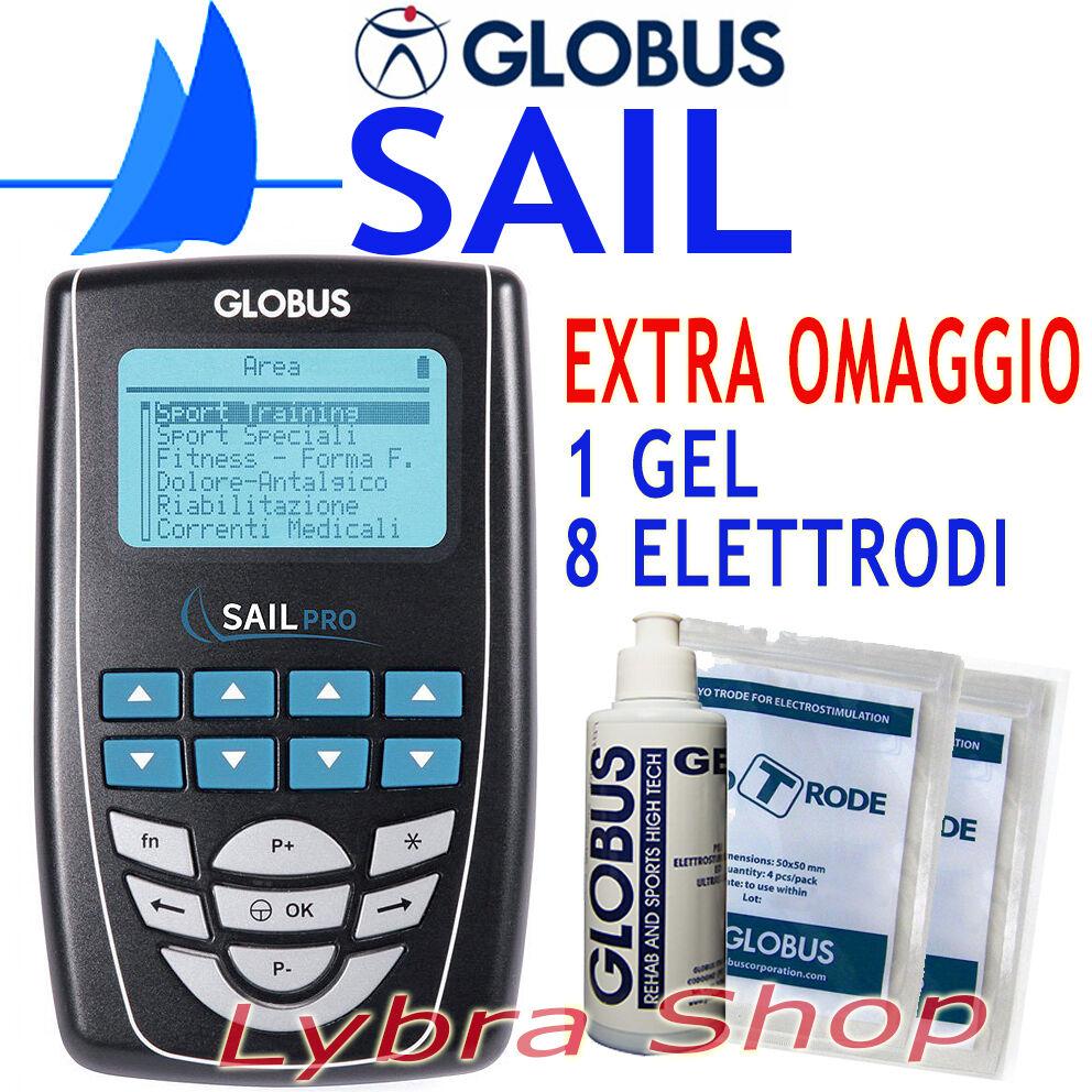 GLOBUS SAIL PRO elettrostimolatore Sport Acquatici Barca Vela Winsurf Kitesurf