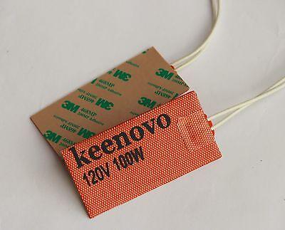 "3M PSA,Custom Design Welcome Keenovo Universal Silicone Heater Pad 2/"" X 4/"" 100W"