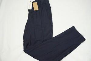 APC-Kaplan-Cotton-Blend-Navy-Blue-Drawstring-Pants-Sz-46-BRAND-NEW-W-TAGS