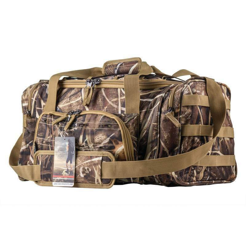 Large Camo Camouflage Waterproof Cooler Bag Lunch Box with  Liner 19   low 40% price