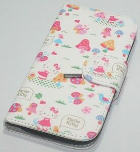 Hello-Kitty-Flip-Leather-Case-With-Screen-Protector-For-Samsung-Galaxy-S3-i9300