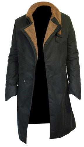 UK Officer K Ryan Blade Runner Gosling 2049 Long Length Cotton Coat Jacket