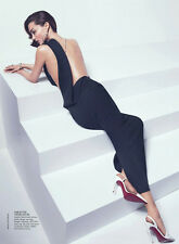HAIDER ACKERMANN Black Silk Cut Out Backless Dress 38 4 6
