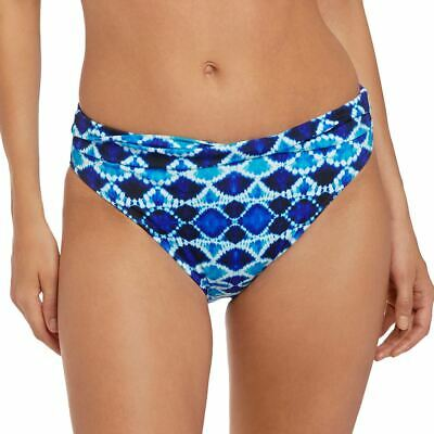 Fantasie Swimwear Tuscany Classic Twist Bikini Brief//Bottoms Ink Blue 6518
